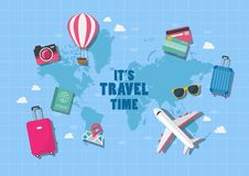Free It Is Travel Time Stock Images - 116062344