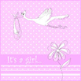 It S A Girl Stock Images
