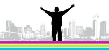 It S My City, Vector Illustration Royalty Free Stock Photos