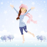It S Snowing Stock Image