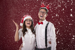 It S Snowing! Royalty Free Stock Photography