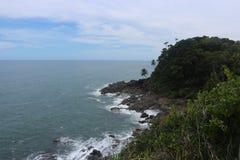 Itacaré, τροπικός προορισμός στη Βραζιλία στοκ εικόνα