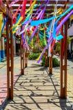 Itacaré vibrant Photo stock