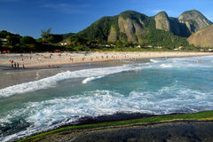 Itacoatiara beach in Niteroi Royalty Free Stock Image