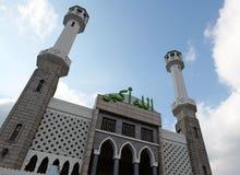 Itaewon storslagen moské, Seoul, Korea Arkivbilder