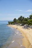 Itaguaçú Beach, Ilhabela - Brazil Royalty Free Stock Image