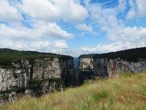 Itaimbezinho Canyon - Brazil. Grand Canyon Itaimbezinho in Cambara do Sul, the border between the states of Santa Catarina and Rio Grande do Sul, in southern Royalty Free Stock Photography