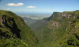 Itaimbezinho Canyon, Brazil. Majestic canyons in Serra Geral National Park, mountain range in southern Brazil stock photos