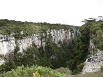 Itaimbezinho Canyon - Brazil. Itaimbezinho Canyon/Brazil at Serra dos Aparados Park Stock Photo