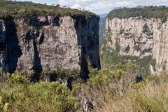 Itaimbezinho Canyon Rio Grande do Sul Brazil Stock Photography