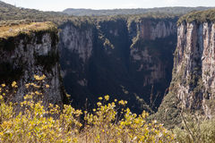 Itaimbezinho Canyon Rio Grande do Sul Brazil Royalty Free Stock Photos