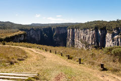 Itaimbezinho Canyon Rio Grande do Sul Brazil Royalty Free Stock Photo