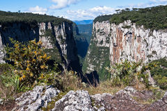 Itaimbezinho Canyon Rio Grande do Sul Brazil Royalty Free Stock Image