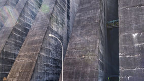 Itaipu Dam Detail from Brazilian Border Stock Photography