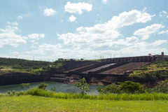 Itaipu Dam, hydroelectric power station, Brazil, Paraguay Royalty Free Stock Image