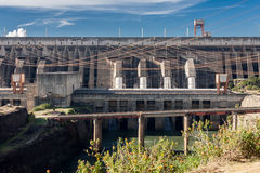 Itaipu Hydroelectric Power Plant Royalty Free Stock Photos
