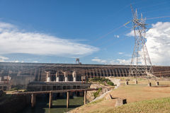 Itaipu Hydroelectric Power Plant Royalty Free Stock Images