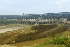 Itaipu Hydroelectric Power Plant Stock Photography