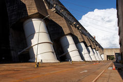 Itaipu Hydroeletric Power Plant royalty free stock image