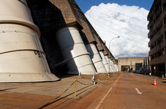 Itaipu Hydroeletric Power Plant Royalty Free Stock Images