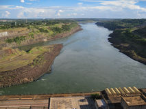Itaipu Hydroeletric Power Plant Royalty Free Stock Photo