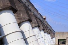 Itaipu-Kraftwerk lizenzfreie stockfotografie