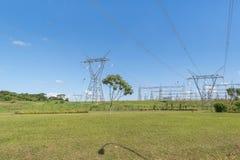 Itaipu Park at Brazilian Border Royalty Free Stock Photos