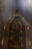 Itaipu tamy inside szczegół patrzeje w dół obrazy stock