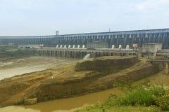 Itaipu vattenkraftväxt Arkivbild