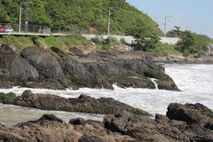 Itajai - Santa Catarina - el Brasil foto de archivo
