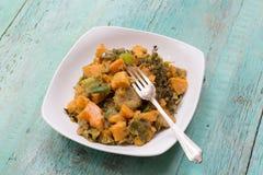 Ital炖煮的食物,菜炖煮的食物 免版税库存图片
