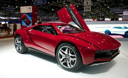 Italdesign Giugiaro works on Lamborghini Stock Image