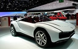 Italdesign Giugiaro works on Lamborghini Royalty Free Stock Photography