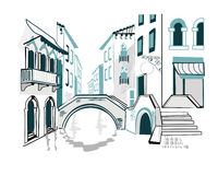 Italië royalty-vrije illustratie