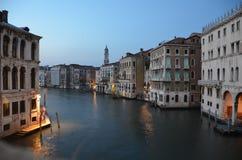Italië bij nacht Stock Foto