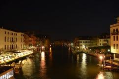 Italië bij nacht Stock Afbeeldingen
