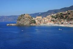 Italië, Calabrië, Scilla Royalty-vrije Stock Afbeeldingen