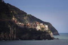 Italië: Cinque Terre-stad Stock Afbeeldingen