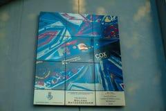 Italië, Imola 16 Juli 2018: Enzo en Dino Ferrari Race Track Stock Afbeelding