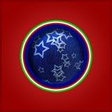 Italië - Kerstmis - prentbriefkaar Stock Foto