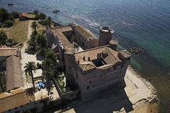 Italië, Lazio, Kasteel palo-Odescalchi Royalty-vrije Stock Foto