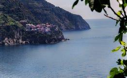 Italië Manarola Cinque terre Royalty-vrije Stock Afbeeldingen