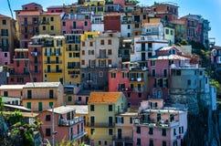 Italië Manarola Cinque terre Royalty-vrije Stock Foto