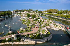 Italië in Miniatuurpark, Rimini Stock Foto's