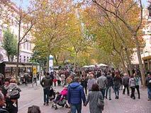 Italië Napels, Luca Giordano-straat, 2 royalty-vrije stock afbeelding