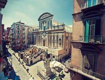 Italië, Napoli Stock Foto