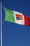 Italië Nationale Vlag Stock Afbeeldingen