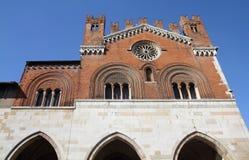 Italië - Piacenza Stock Foto's