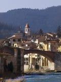 Italië, Pontassieve-dorp Royalty-vrije Stock Foto