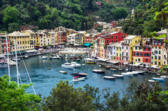 Italië Portofino Ligurië Stock Fotografie